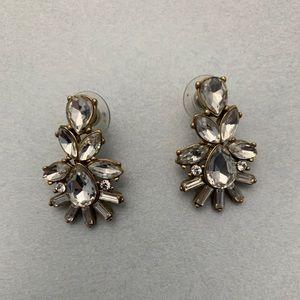 J.Crew Crystal Earrings